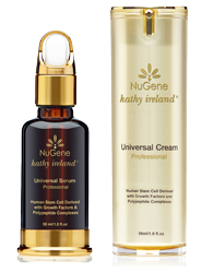 Nugene Anti-Aging Skin Care Therapy: Universal Serum, Universal Cream and Eye Serum
